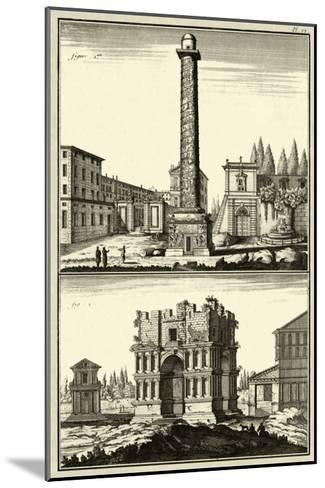 The Column of Trajan-Denis Diderot-Mounted Art Print