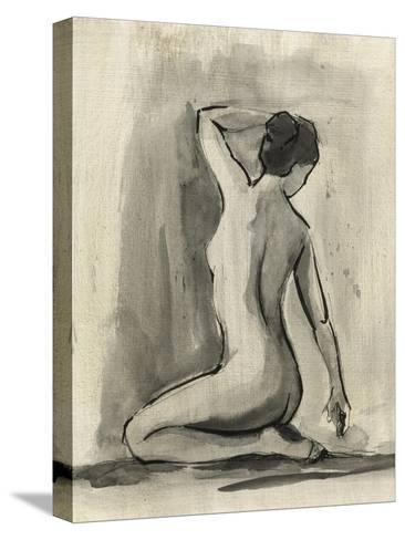 Sumi-e Figure I-Ethan Harper-Stretched Canvas Print