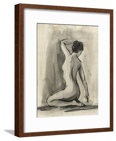 Sumi-e Figure I-Ethan Harper-Framed Art Print