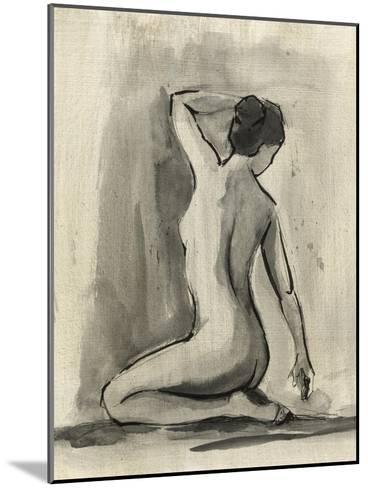 Sumi-e Figure I-Ethan Harper-Mounted Art Print