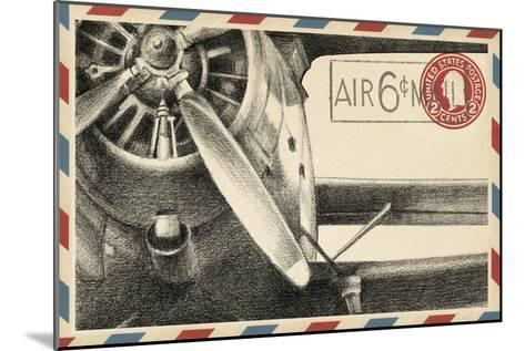 Vintage Airmail II-Ethan Harper-Mounted Art Print