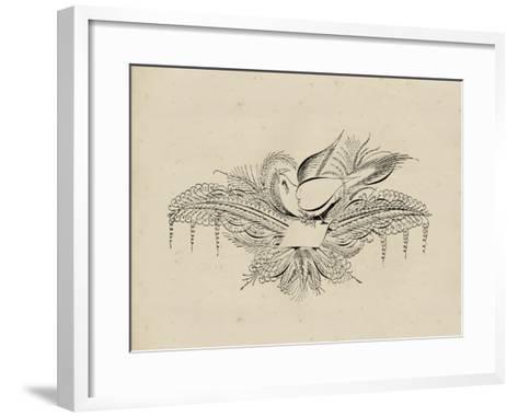 Victorian Quill I--Framed Art Print