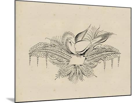 Victorian Quill I--Mounted Art Print