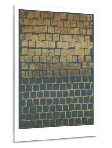 Non-Embellished Mosaic Sunset II--Metal Print