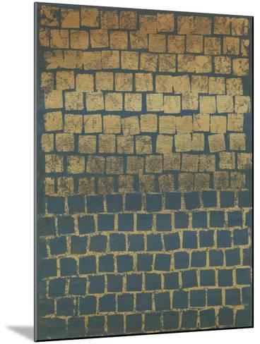 Non-Embellished Mosaic Sunset II--Mounted Art Print