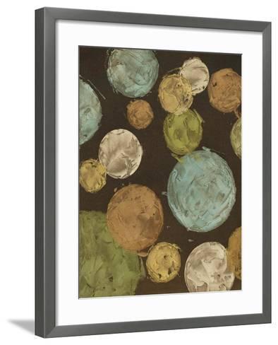 Non-Embellished Circles & Spheres I--Framed Art Print