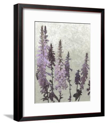 Non-Embellished Foxgloves II--Framed Art Print