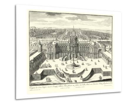 Fountains of Versailles II--Metal Print