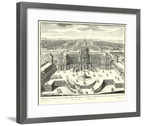 Fountains of Versailles II--Framed Art Print