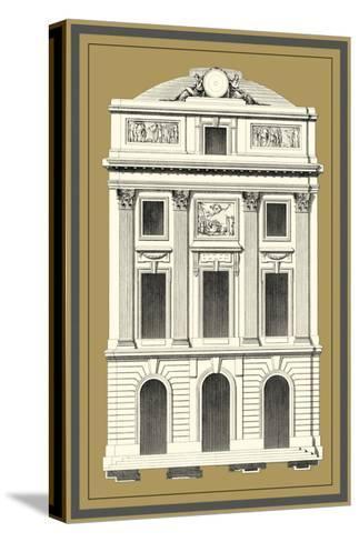 Grand Façade IV--Stretched Canvas Print