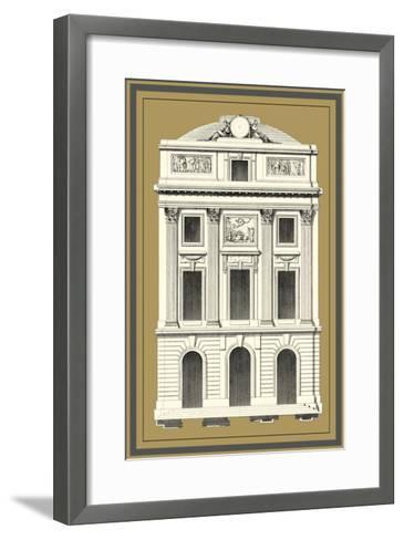 Grand Façade IV--Framed Art Print