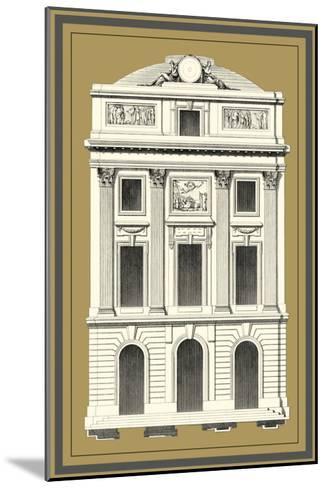 Grand Façade IV--Mounted Art Print