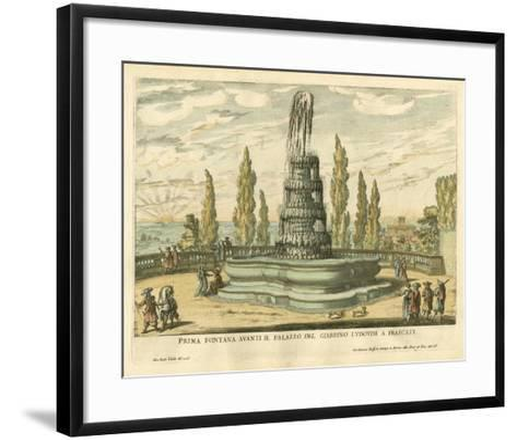 Italian Fountain IV- Falda-Framed Art Print