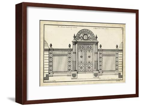 Neufforge Gate IV--Framed Art Print