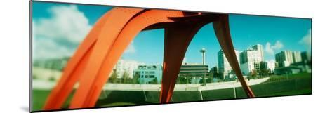Sculpture in a Park, Olympic Sculpture Park, Seattle Art Museum, Seattle, King County, Washington--Mounted Photographic Print