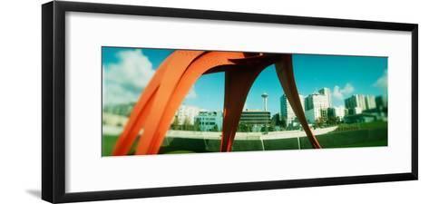 Sculpture in a Park, Olympic Sculpture Park, Seattle Art Museum, Seattle, King County, Washington--Framed Art Print