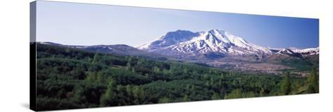 Dormant Volcano, Mt St. Helens, Mt St. Helens National Volcanic Monument, Washington State, USA--Stretched Canvas Print