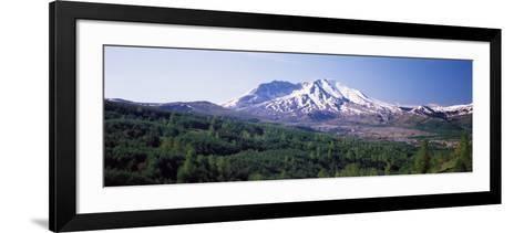Dormant Volcano, Mt St. Helens, Mt St. Helens National Volcanic Monument, Washington State, USA--Framed Art Print