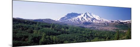 Dormant Volcano, Mt St. Helens, Mt St. Helens National Volcanic Monument, Washington State, USA--Mounted Photographic Print
