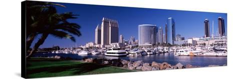 Boats at a Harbor, San Diego, California, USA 2010--Stretched Canvas Print