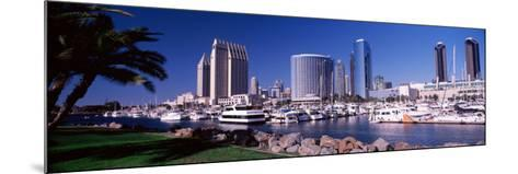Boats at a Harbor, San Diego, California, USA 2010--Mounted Photographic Print