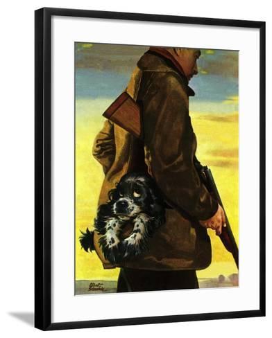 """""""Pocket Pal,"""" November 17, 1945-Albert Staehle-Framed Art Print"""