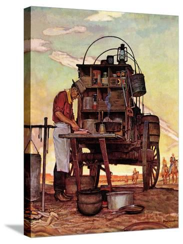 """Chuckwagon,"" September 14, 1946-Mead Schaeffer-Stretched Canvas Print"