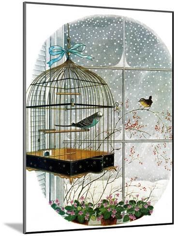 """""""Birdtalk,"""" January 6, 1962-Gyo Fujikawa-Mounted Giclee Print"""