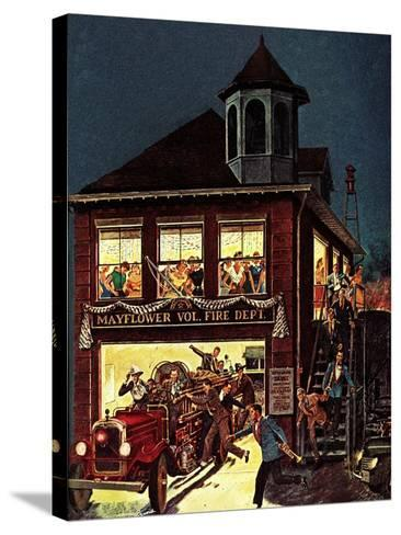 """""""Fireman's Ball,"""" February 1, 1982-Ben Kimberly Prins-Stretched Canvas Print"""