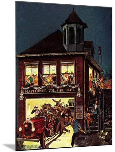 """Fireman's Ball,"" February 1, 1982-Ben Kimberly Prins-Mounted Giclee Print"