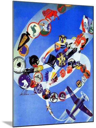 """""""Squadron Insignia,"""" August 23, 1941-Ski Weld-Mounted Giclee Print"""