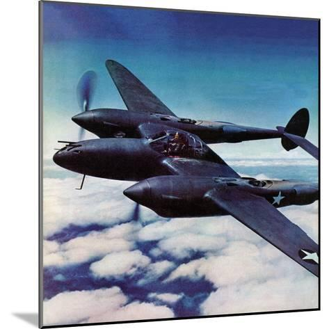 """Airborne Bomber,"" August 29, 1942-Ivan Dmitri-Mounted Giclee Print"