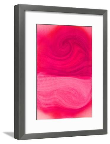 Nirvana: The Rose Flower Dyes the Space to Red with the Smell-Masaho Miyashima-Framed Art Print