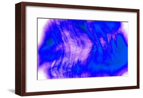 Nirvana: Blue Water Flows Slowly in a Deep Sea-Masaho Miyashima-Framed Art Print