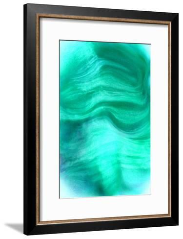 Nirvana: The Wind of the Emerald Is a Smell of the Mint-Masaho Miyashima-Framed Art Print