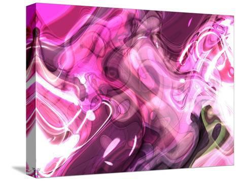 Abstract 14-Shiroki Kimaneka-Stretched Canvas Print