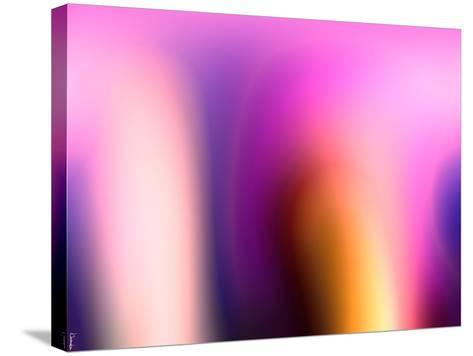 Abstract 18-Shiroki Kimaneka-Stretched Canvas Print