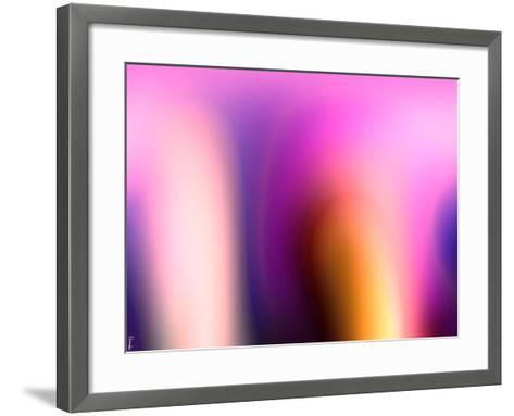 Abstract 18-Shiroki Kimaneka-Framed Art Print