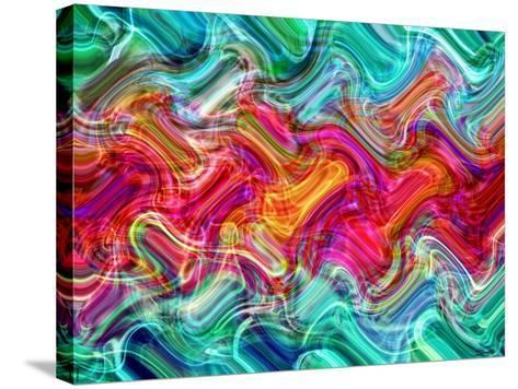 Abstract 26-Shiroki Kimaneka-Stretched Canvas Print
