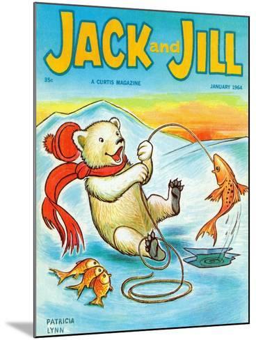 A Real Fish Story - Jack and Jill, January 1964-Patricia Lynn-Mounted Giclee Print