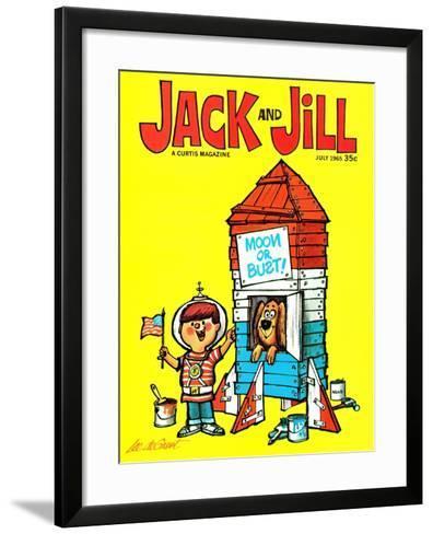 Countdown - Jack and Jill, July 1965-Lee de Groot-Framed Art Print