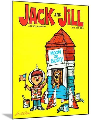 Countdown - Jack and Jill, July 1965-Lee de Groot-Mounted Giclee Print