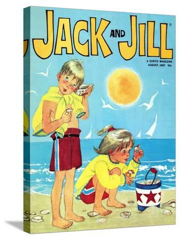 Now Hear This - Jack and Jill, August 1967-Ann Eshner-Stretched Canvas Print