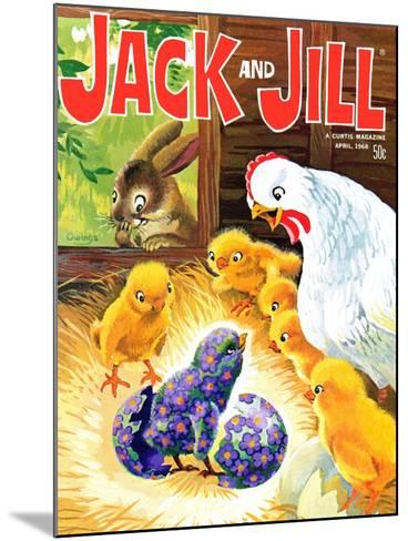 Easter Surprise - Jack and Jill, April 1968-Rae Owings-Mounted Giclee Print