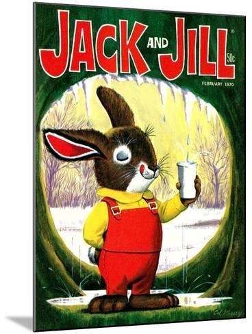 Splashing Into Spring - Jack and Jill, February 1970-Cal Massey-Mounted Giclee Print
