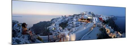 Village of Oia (La), Santorini (Thira), Cyclades Islands, Greece-Gavin Hellier-Mounted Photographic Print