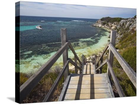 Australia, Western Australia, Rottnest Island-Andrew Watson-Stretched Canvas Print