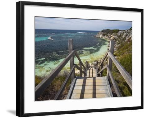 Australia, Western Australia, Rottnest Island-Andrew Watson-Framed Art Print