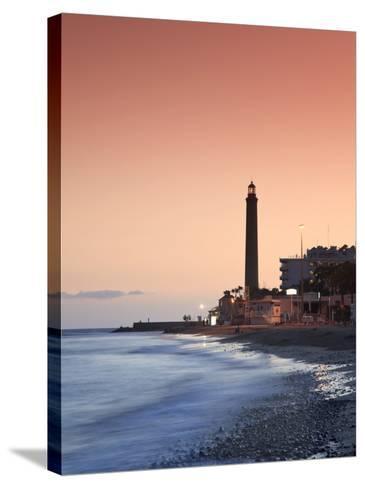 Canary Islands, Gran Canaria, Maspalomas, Faro De Maspalomas (Maspalomas Lighthouse)-Michele Falzone-Stretched Canvas Print