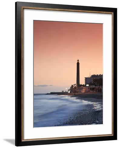 Canary Islands, Gran Canaria, Maspalomas, Faro De Maspalomas (Maspalomas Lighthouse)-Michele Falzone-Framed Art Print